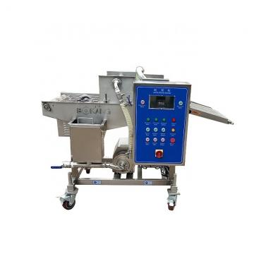 Automatic Halal Muslim Batter and Breading Machine Fried Chicken Breading Machine Burger Patty Making Machine