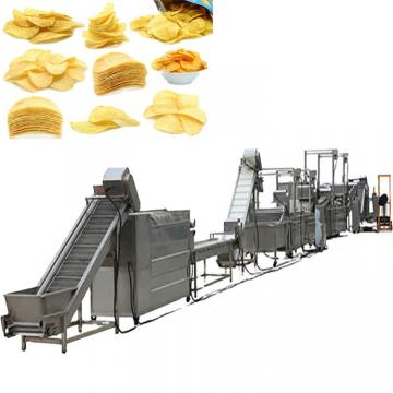 Automatic small scale potato chip maker machine potato chips making machine potato chips production line