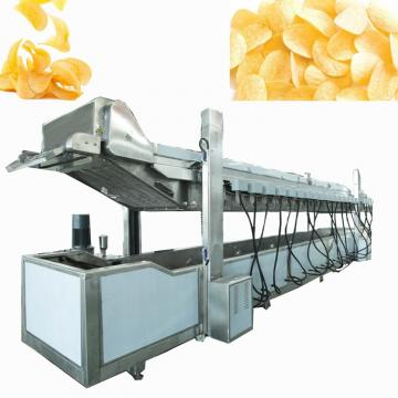 for factory semi automatic potato chips production line/ vegetable drying machine