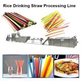 Biodegradable Eco Environmentally Friendly Edible Rice Wheat Cassava Flour Drinking Straw Machine